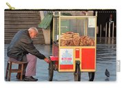 Pretzel Seller With Pushcart Istanbul Turkey Carry-all Pouch