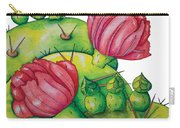 Prickly Pear Bloom Carry-all Pouch