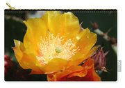 Prickly Pear Blossom Carry-all Pouch