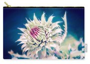 Prickly Thistle Bloom Carry-all Pouch