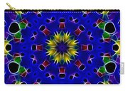 Primary Colors Fractal Kaleidoscope Carry-all Pouch
