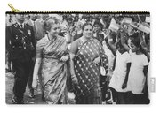 Prime Minister Indira Gandhi Carry-all Pouch