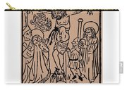 Primitive Crucifixion Carry-all Pouch