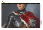 Prince Augustus William Oil On Canvas Carry-all Pouch