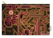 Printed Circuit - Motherboard Carry-all Pouch by Michal Boubin