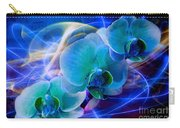 Prismatic Orchid Swirl Carry-all Pouch