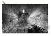 Prison Cell Black And White Carry-all Pouch