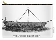 Prison Ship: Jersey Carry-all Pouch by Granger