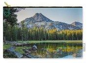 Pristine Alpine Lake Carry-all Pouch