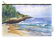 Pristine Mahaulepu Beach Carry-all Pouch