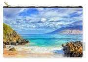 Private Beach At Wailea Maui Carry-all Pouch