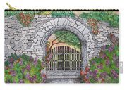 Private Garden At Sunset Carry-all Pouch