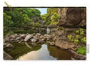 Private Pool Paradise - The Beautiful Scene Of The Seven Sacred Pools Of Maui. Carry-all Pouch
