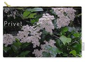 Privet Blossoms 2 Carry-all Pouch