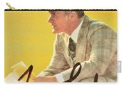 Pro Football Coach Tom Landry Carry-all Pouch
