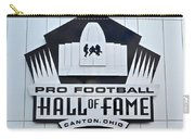 Pro Football Hall Of Fame Carry-all Pouch