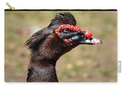 Profile Of A Brown Muscovy Duck Carry-all Pouch