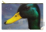 Profile Of A Mallard Carry-all Pouch