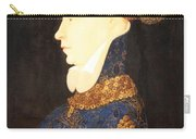 Profile Portrait Of A Lady -- Franco Flemish 15th Century Carry-all Pouch