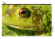 Profiling Frog Carry-all Pouch