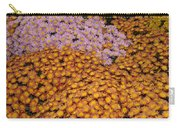 Profusion In Yellows Pinks And Oranges Carry-all Pouch