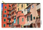 promenade and homes in Camogli Carry-all Pouch