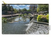 Promenade And Waterfall In Carroll Creek Park In Frederick Mary Carry-all Pouch