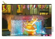 Prometheus Sculpture In Rockefeller Center  Carry-all Pouch