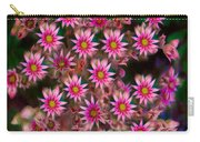 Promising Pink Petals Abstract Garden Art By Omaste Witkowski Carry-all Pouch