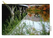 Prosser - Autumn Bridge Over The Yakima River Carry-all Pouch