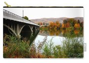 Prosser Bridge And Fall Colors On The River Carry-all Pouch