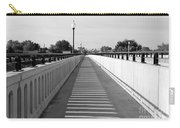 Prosser Bridge Perspective - Black And White Carry-all Pouch