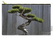 Prostrate Juniper Bonsai Tree Carry-all Pouch
