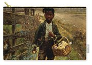 Protecting The Groceries Carry-all Pouch by Edward Lamson Henry