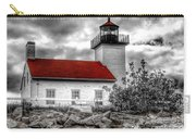 Protector Of The Harbor - Sand Point Lighthouse Carry-all Pouch