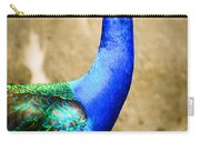Proud Peacock Carry-all Pouch
