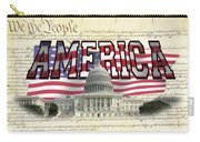 Proud To Be American Carry-all Pouch
