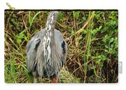 Proud Heron Carry-all Pouch