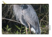 Pround Blue Heron Carry-all Pouch