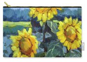 Provence Sunflower Trio Carry-all Pouch