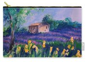 Provence Yellow Flowers Carry-all Pouch