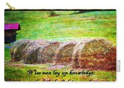 Proverbs 10 14 Carry-all Pouch