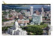 Providence Rhode Island Downtown Skyline Aerial Carry-all Pouch