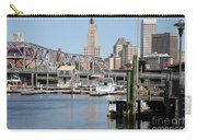 Providence River And Point St Bridge Carry-all Pouch