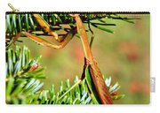 Prying Mantis On The Pine Tree Carry-all Pouch