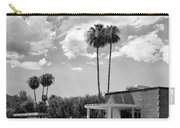 Ps City Hall Front Bw Palm Springs Carry-all Pouch