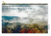 Psalm 116 2 Carry-all Pouch