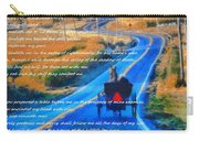Psalm 23 Country Roads Carry-all Pouch