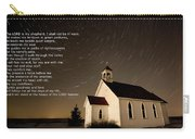Psalm 23 Night Photography Star Trails Carry-all Pouch