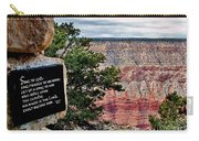 Psalm 68 - Grand Canyon Carry-all Pouch